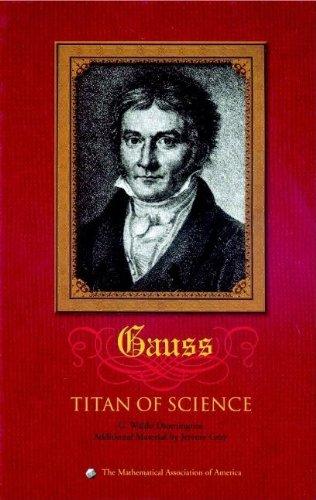 9780883855478: Carl Friedrich Gauss Hardback: Titan of Science (Spectrum)