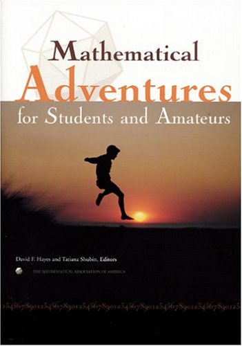 9780883855485: Mathematical Adventures for Students and Amateurs (Spectrum)