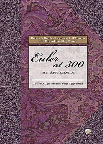 9780883855652: Euler at 300: An Appreciation