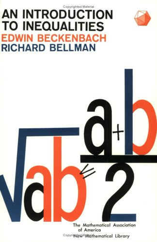 9780883856031: Introduction to Inequalities (New Mathematical Library)