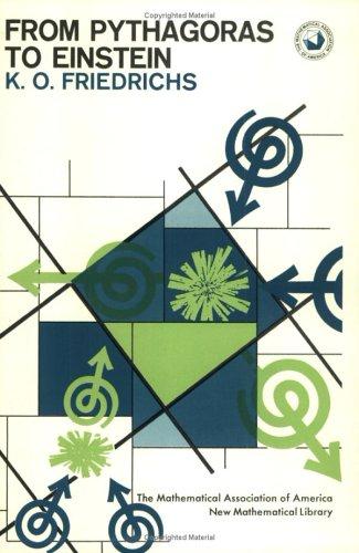 9780883856161: From Pythagoras to Einstein (New Mathematical Library)