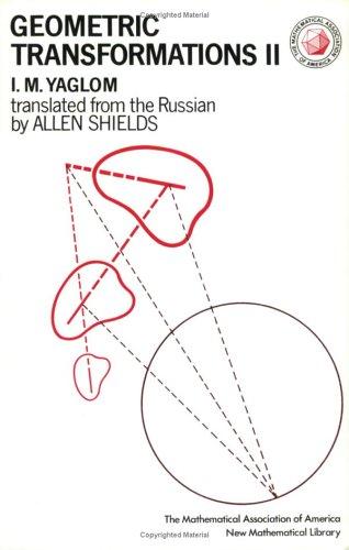 9780883856215: Geometric Transformations II (NEW MATHEMATICAL LIBRARY)