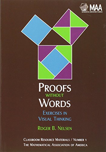 9780883857007: Proofs without Words: Exercises in Visual Thinking (Classroom Resource Materials) (v. 1)