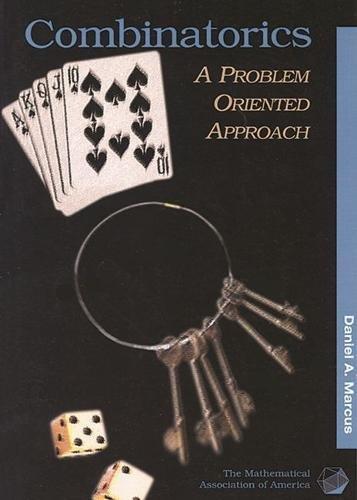9780883857106: Combinatorics: A Problem Oriented Approach (Mathematical Association of America Textbooks)
