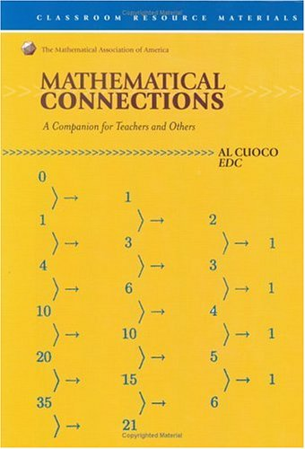 9780883857397: Mathematical Connections: A Companion for Teachers (Classroom Resource Material)