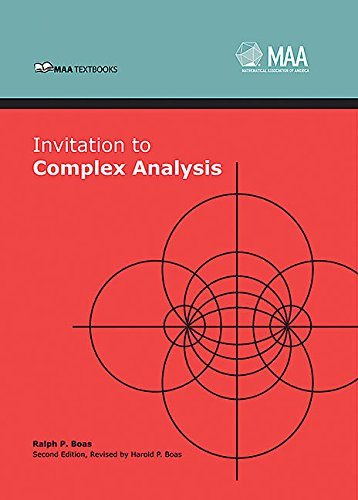9780883857649: Invitation to Complex Analysis (Mathematical Association of America Textbooks)