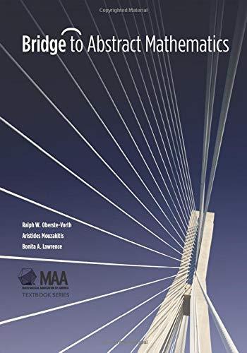 9780883857793: Bridge to Abstract Mathematics (Mathematical Association of America Textbooks)
