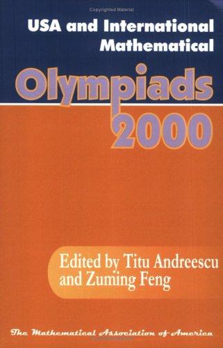 9780883858042: USA and International Mathematical Olympiads (Maa Problem Books Series)