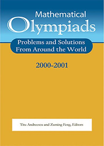 9780883858103: Mathematical Olympiads, 2000-2001: Problems and Solutions from Around the World (MAA Problem Book Series)