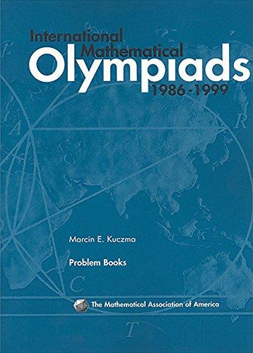 9780883858110: International Math Olympiads, 1986-1999 (MAA Problem Book Series)