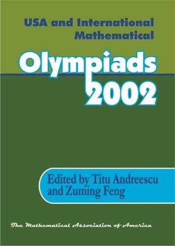 9780883858158: USA & International Mathematical Olympiads 2002