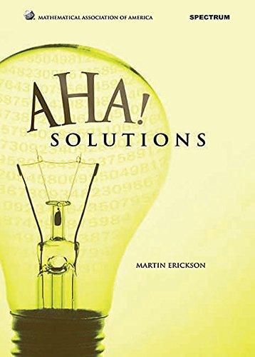 9780883858295: Aha! Solutions