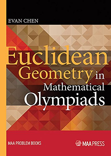 9780883858394: Euclidean Geometry in Mathematical Olympiads (MAA Problem Book Series)