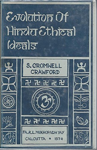 9780883865583: The Evolution of Hindu Ethical Ideals. [Hardcover] by Unnamed