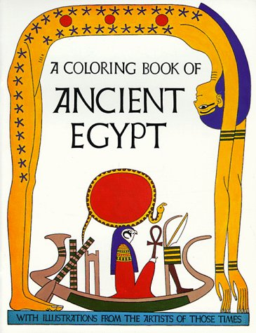 9780883880050: Ancient Egypt Coloring Book
