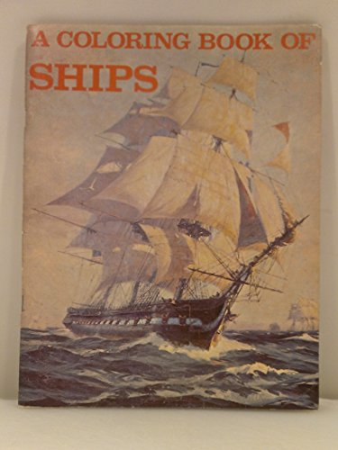 9780883880166: A Coloring Book of Ships