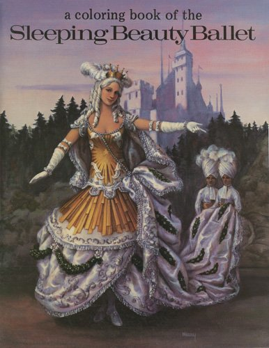 9780883880456: A Coloring Book of the Sleeping Beauty Ballet