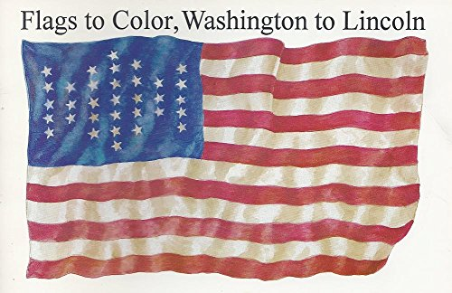 9780883880487: Flags to Color, Washington to Lincoln