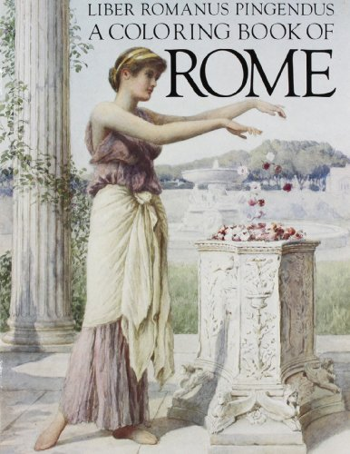 9780883880616: A Coloring Book of Rome