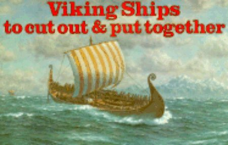 9780883880784: Viking Ships: To Cut Out and Put Together