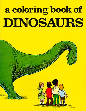Coloring Book of Dinosaurs (Paperback): BELLEROPHON BOOKS, United ...