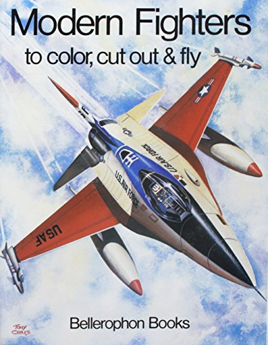 9780883880951: Modern Fighter Plane Coloring Book