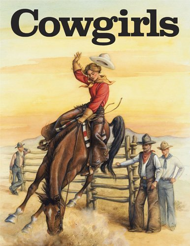 9780883881187: Cowgirls (A Coloring Book)