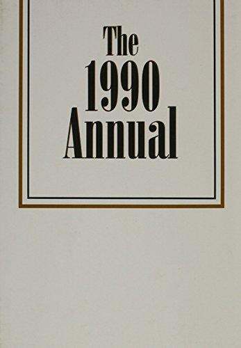 9780883900222: The Annual, 1990 (Pfeiffer Annual)