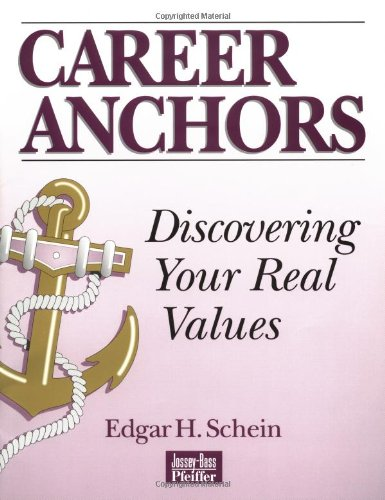 9780883900307: Career Anchors: Instrument: Discovering Your Real Values