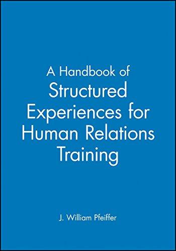 Handbook of Structured Experience: Volume 6 (Handbook: J. William Pfeiffer