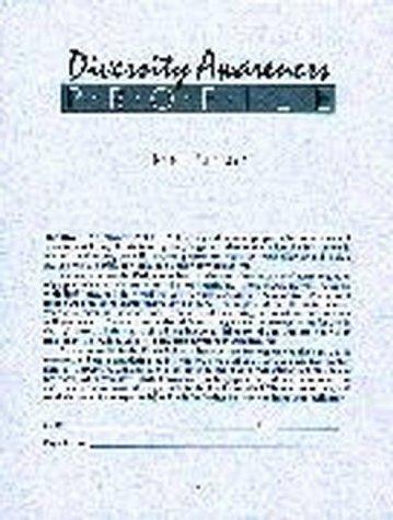 9780883900598: Diversity Awareness Profile (DAP)