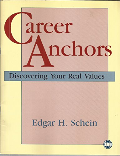 9780883901854: Career Anchors