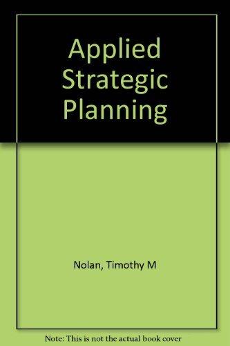 9780883903094: Applied Strategic Planning