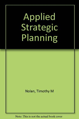 9780883903094: Applied Strategic Planning: A Comprehensive Guide