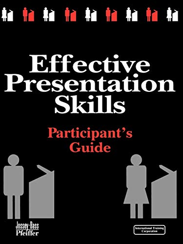 Effective Presentation Skills: Video Training Package: International Training Corporation