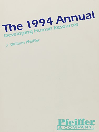 The Annual, 1994 (Pfeiffer Annual )