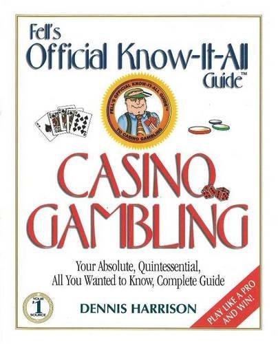 9780883910139: Fell's Guide to Casino Gambling