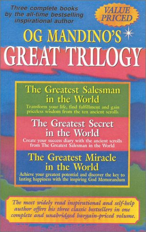 9780883910344: Og Mandino's Great Trilogy: The Greatest Salesman in the World/the Greatest Secret in the World/the Greatest Miracle in the World