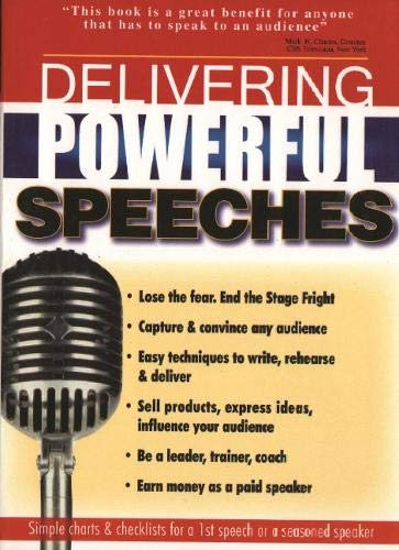 9780883910955: Delivering Powerful Speeches: Speak with Power, Poise & Personality