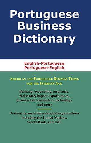 9780884003212: Portuguese Business Dictionary: English-Portuguese, Portuguese-English