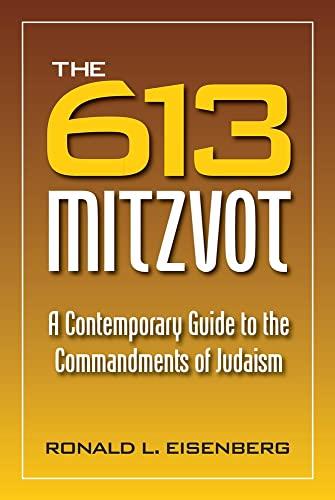9780884003335: 613 Mitzvot: A Contemporary Guide to the Commandments of Judaism