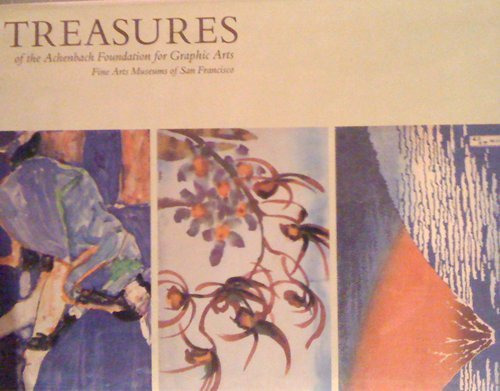 9780884010852: Treasures of the Achenbach Foundation for Graphic Arts