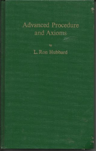 9780884040217: Advanced Procedure and Axioms