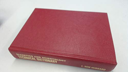 9780884040378: Dianetics and Scientology Technical Dictionary