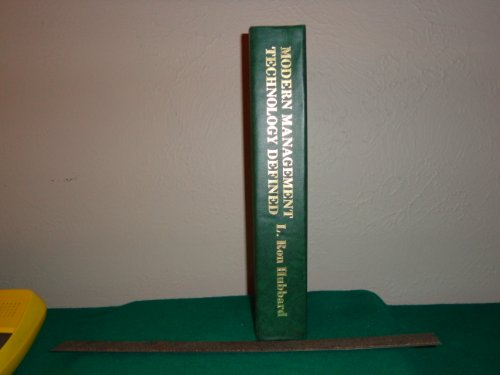 Modern Management Technology Defined: Hubbard Dictionary of Administration and Management: L. Ron ...