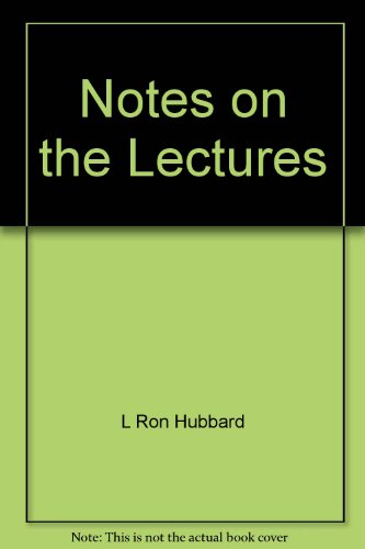 9780884041184: Notes on the Lectures