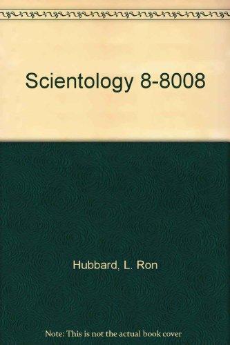 9780884041221: Scientology 8-8008