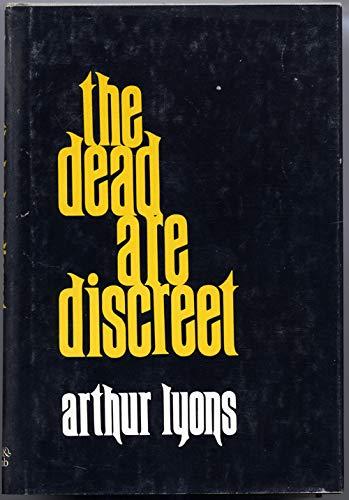 9780884050780: The dead are discreet
