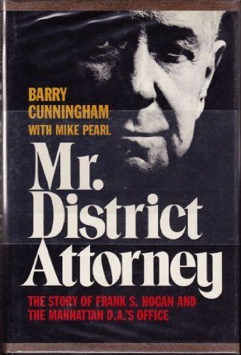 Mr. District Attorney: Cunningham, Barry