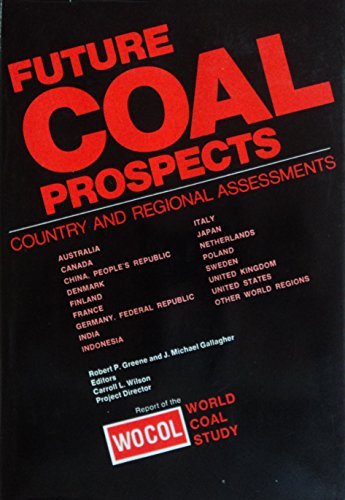 Future coal prospects: Country and regional assessments: World Coal Study